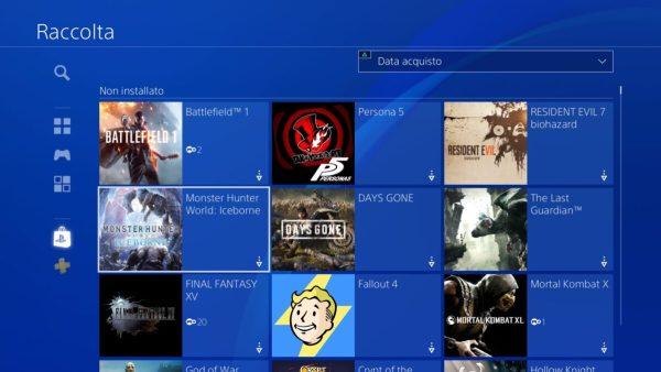 Libreria PlayStation Plus Collection