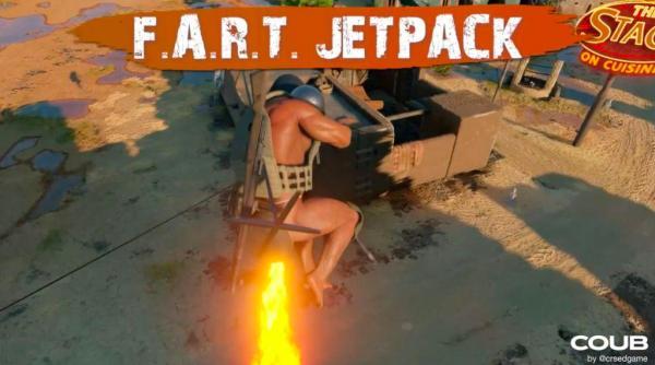 CRSED FOAD FART Jetpack