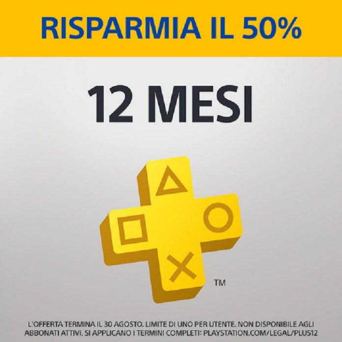 Playstation plus offerta