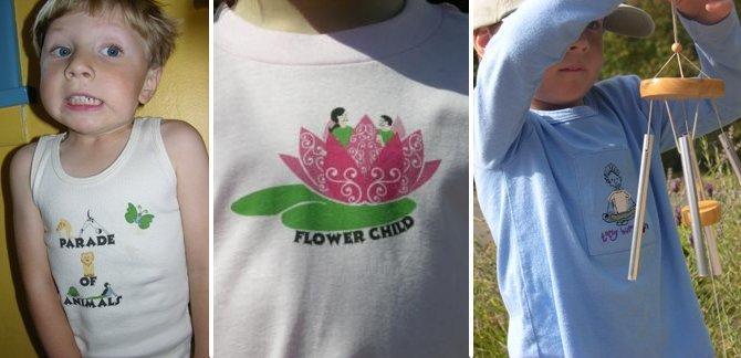 327d93a36a035 Organic Fiber Yoga Clothing For Children