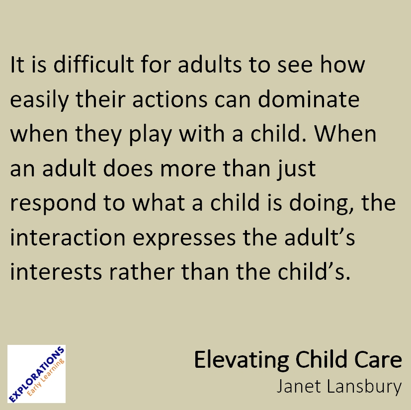 Elevating Child Care Quote 1988 Playvolution Hq