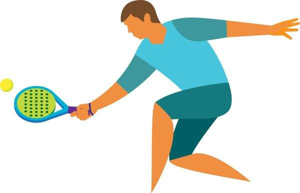Squash Sport Clip Art
