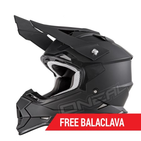 Oneal 2 Series RL Motocross Helmet Matt Black
