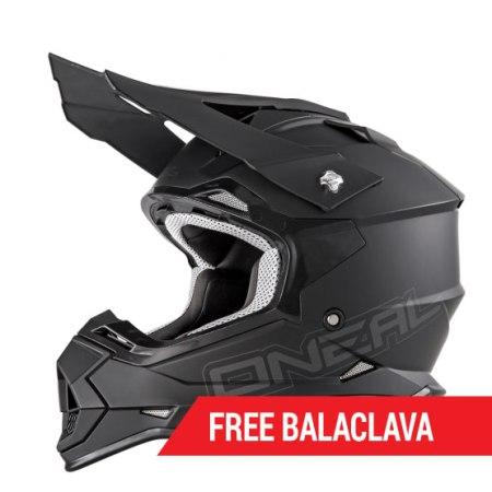 ONeal 2 Series RL Motocross Helmet Matt Black