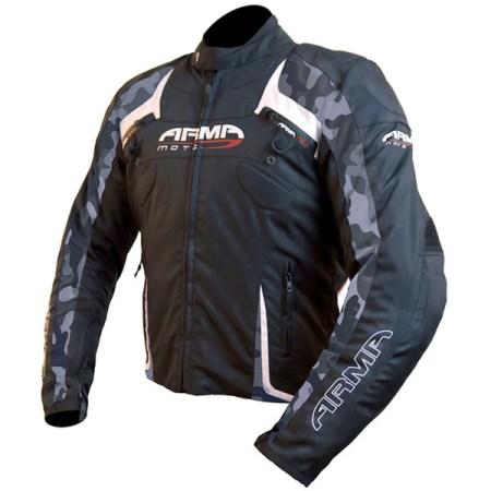 Armr Moto Eyoshi Motorcycle Jacket Black/Camo