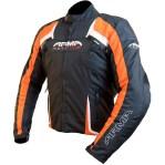 Armr Moto Eyoshi Motorcycle Jacket Black/Orange