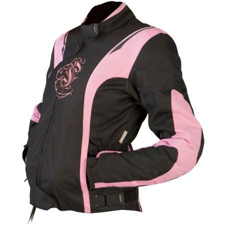 Armr Moto Jojo Ladies Motorcycle Jacket Pink