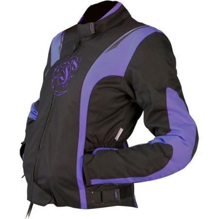 Armr Moto Jojo Ladies Motorcycle Jacket Purple