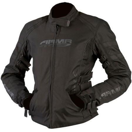 Armr Moto Kami Ladies Motorcycle Jacket Black