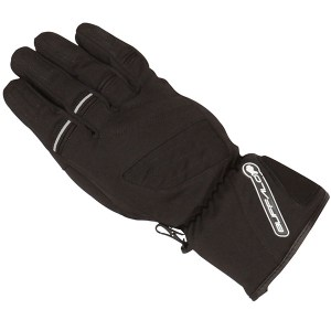 Buffalo Alaska Ladies Motorcycle Gloves Black