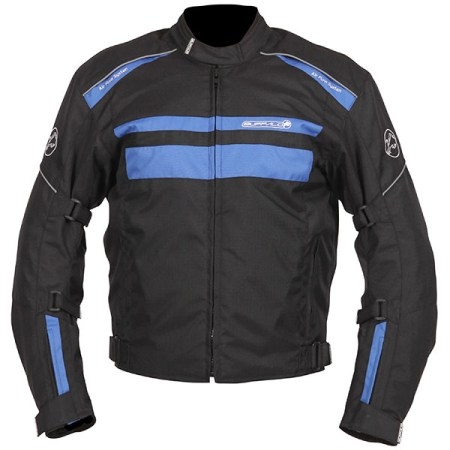 Buffalo Modena Motorcycle Jacket Black/Blue