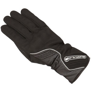 Buffalo Polar Ladies Motorcycle Gloves Black