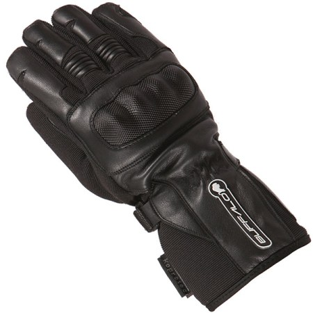 Buffalo Shadow Motorcycle Gloves Black