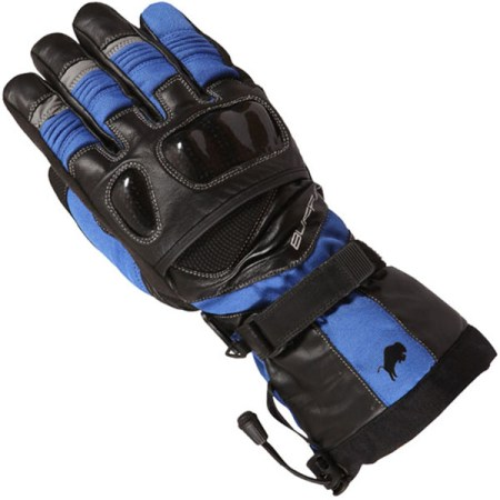 Buffalo Yukon Motorcycle Gloves Blue