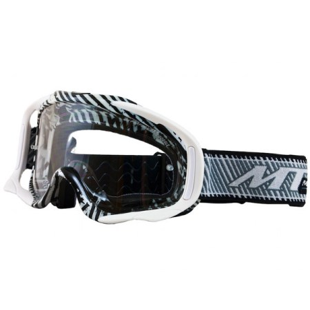 MT Motocross Goggles White