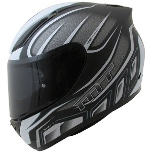 MT Revenge Alpha Motorcycle Helmet Matt Black/Grey
