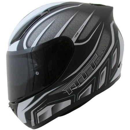 MT Revenge Alpha Motorcycle Helmet Matt Black/Grey