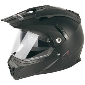 Nitro MX660 Dual Sport Helmet Matt Black