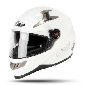 Nitro N2200 Uno Motorcycle Helmet Gloss White