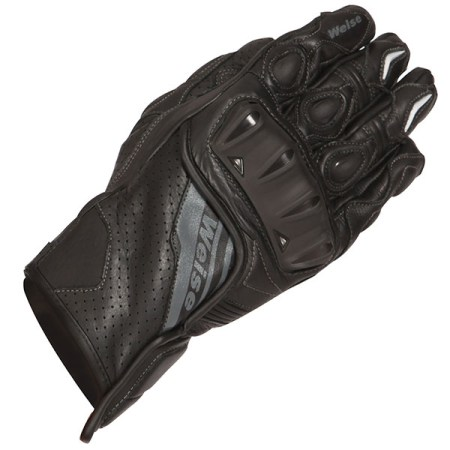 Weise Remus Motorcycle Gloves - Black