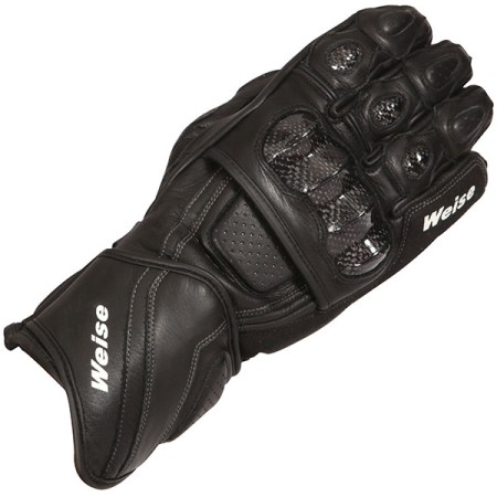 Weise Romulus Motorcycle Gloves Black