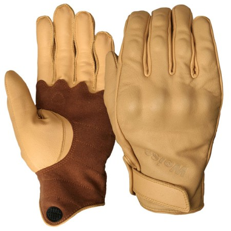 Weise Victory Motorcycle Gloves Tan