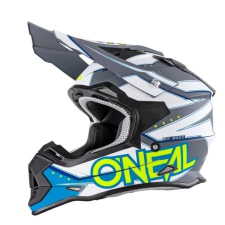 Oneal 2 Series RL Slingshot Motocross Helmet White