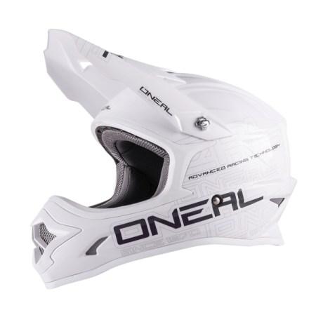Oneal 3 Series Motocross Helmet Matt White