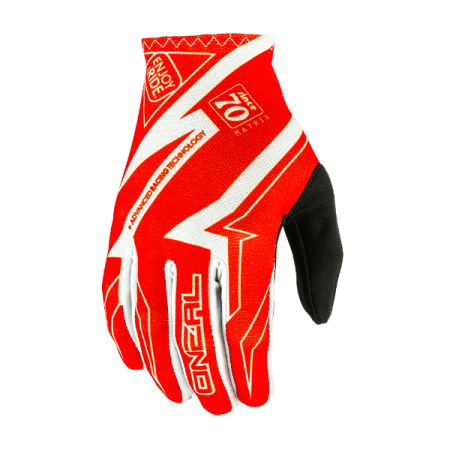 ONeal Matrix Racewear Motocross Gloves - Red
