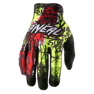 ONeal Matrix Vandal Motocross Gloves Black