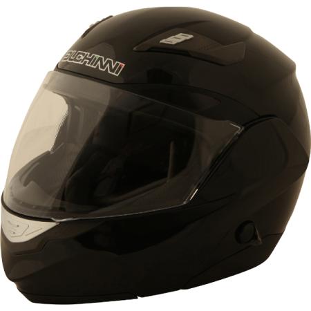 Duchinni D605 Flip Front Motorcycle Helmet - Black