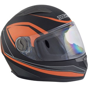 Duchinni D705 Synchro Motorcycle Helmet Orange
