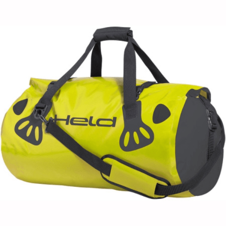Held Waterproof Motorcycle Carry Roll Bag - Yellow