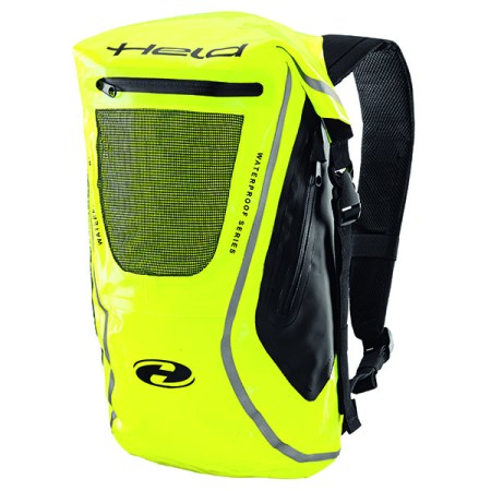 Held Zaino Waterproof Motorcycle Rucksack - Yellow