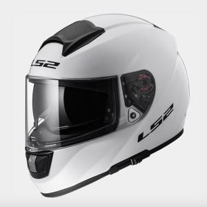 LS2 FF397 Vector Motorcycle Helmet Gloss White
