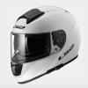 LS2 FF397 Vector Motorcycle Helmet Gloss White