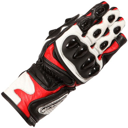 Buffalo BR30 Motorcycle Gloves - Red