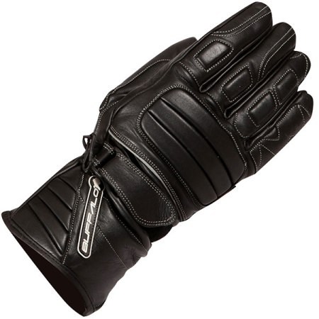 Buffalo Everest Motorcycle Gloves Black