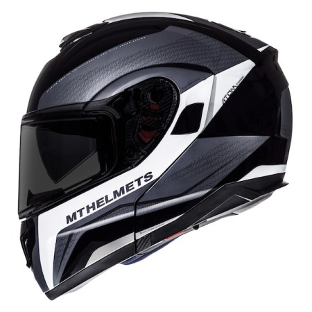 MT Atom Tarmac Motorcycle Helmet Black