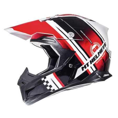 MT Synchrony Endurance Motocross Helmet Red