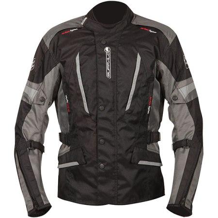 Buffalo Cyclone Motorcycle Jacket Black