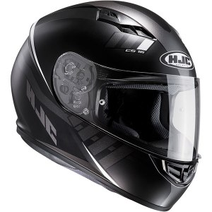 HJC CS-15 Space Motorcycle Helmet Black