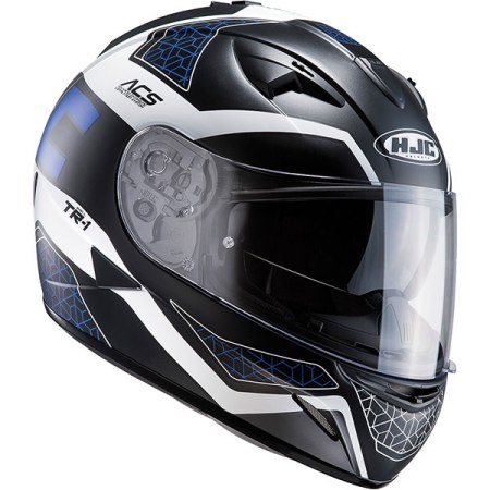 HJC TR-1 Tholos Motorcycle Helmet Blue