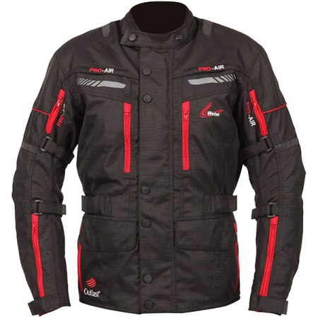 Weise Outlast Houston Motorcycle Jacket - Black