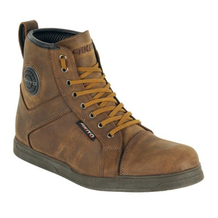 Akito Citizen Motorcycle Boots Brown
