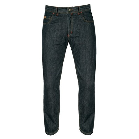 Akito District Denim Motorcycle Jeans - Midnight Blue