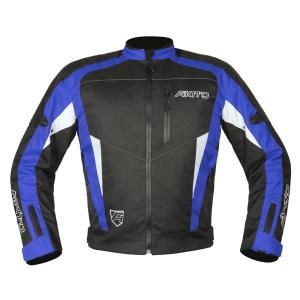 Akito Horizon Motorcycle Jacket Blue