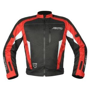 Akito Horizon Motorcycle Jacket Red