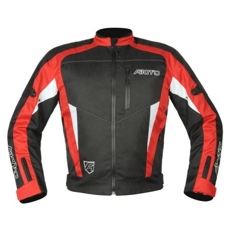 Akito Horizon Motorcycle Jacket - Red
