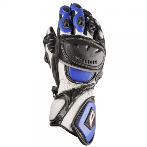 Akito Sport Max Motorcycle Gloves Blue
